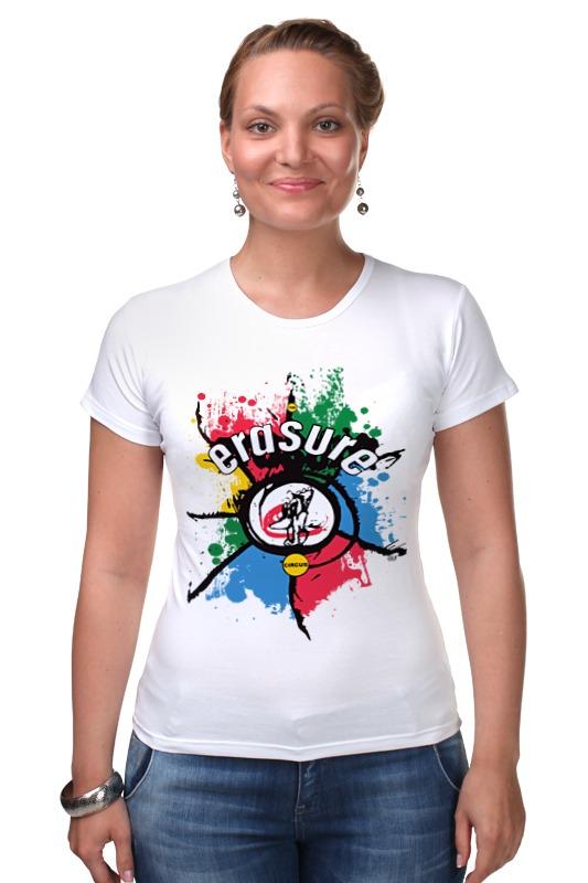 цена на Футболка Стрэйч Printio Erasure / the circus