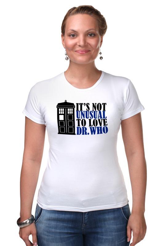 Футболка Стрэйч Printio Тардис (доктор кто) футболка рингер printio тардис доктор кто