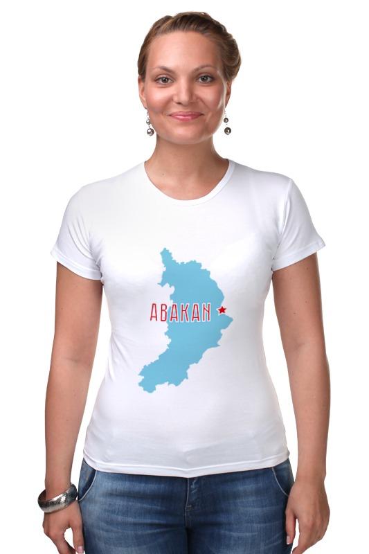 Футболка Стрэйч Printio Республика хакасия. абакан футболка рингер printio республика удмуртия ижевск