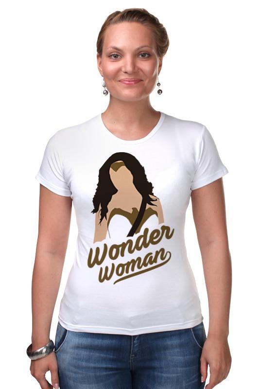 цена Футболка Стрэйч Printio Чудо-женщина (wonder woman) онлайн в 2017 году