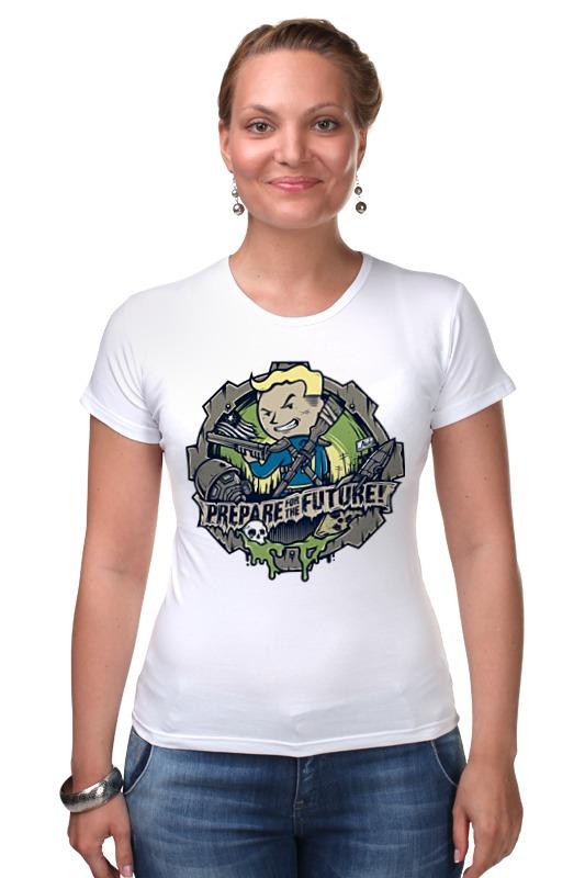 Футболка Стрэйч Printio Fallout футболка классическая printio fallout фэллаут