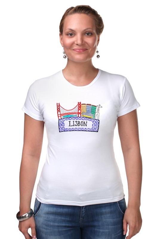 Футболка Стрэйч Printio Lisbon ghost lisbon
