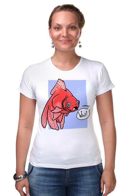 Футболка Стрэйч Printio Недоумевающая глазастая рыба олег ольхов рыба морепродукты на вашем столе