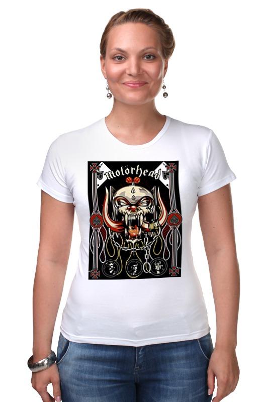Футболка Стрэйч Printio Motorhead band футболка стрэйч printio motorhead band
