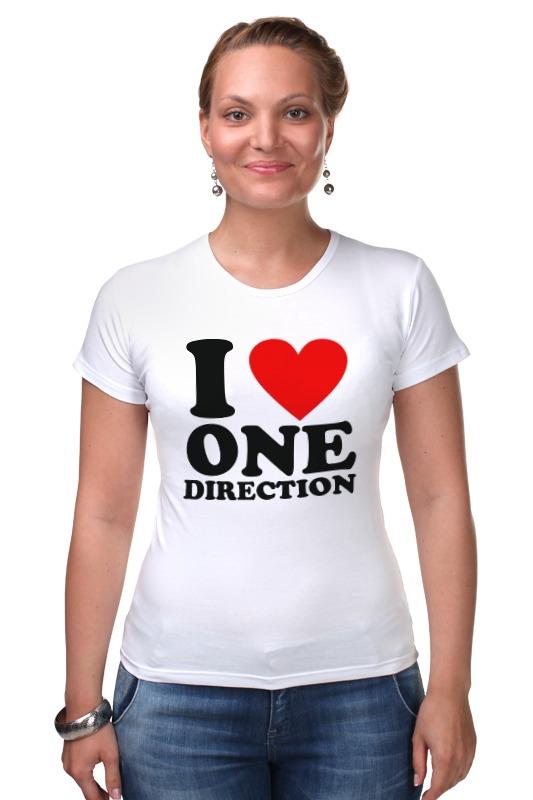 Футболка Стрэйч Printio One direction тетрадь на скрепке printio i want to write you a song one direction mitam