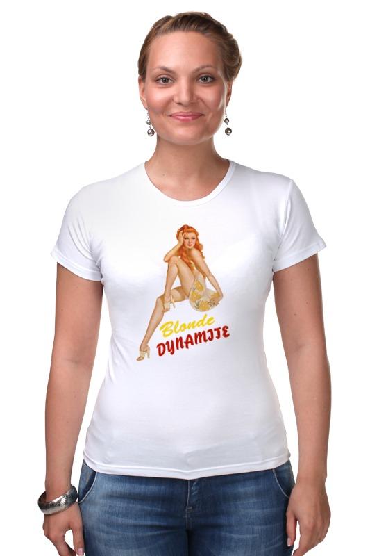 Футболка Стрэйч Printio Blonde dynamite майка классическая printio blonde dynamite