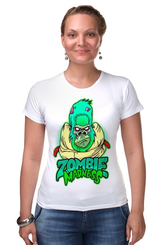 Футболка Стрэйч Printio Zombie madness