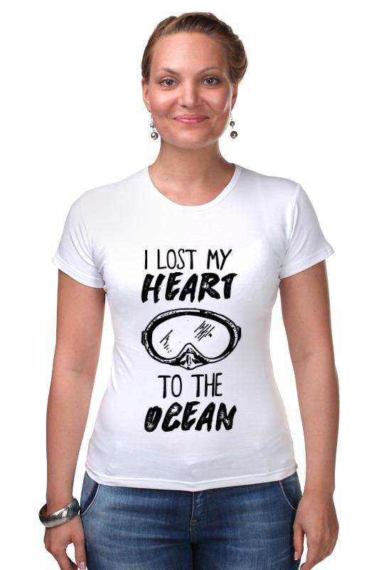 Футболка Стрэйч Printio I lost my heart to the ocean velvet обувь