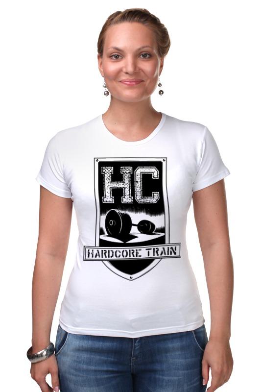 Футболка Стрэйч Printio Hardcore train футболка hardcore training hardcore training ha020emtsf29