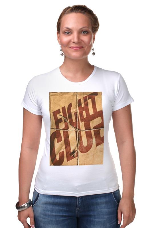 Футболка Стрэйч Printio Fight club / бойцовский клуб palahniuk c fight club