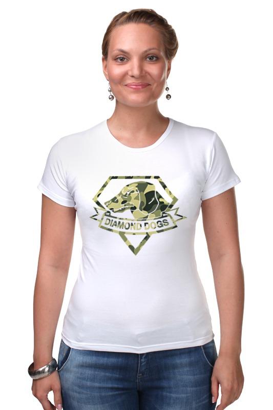 Футболка Стрэйч Printio Diamond dogs (metal gear solid) diamond dogs cd