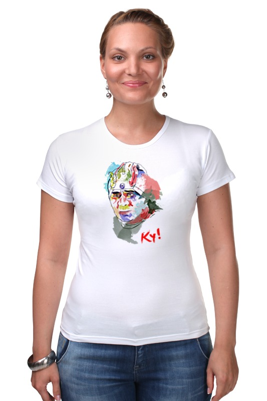 Футболка Стрэйч Printio Леонов кин-дза-дза футболка рингер printio леонов кин дза дза