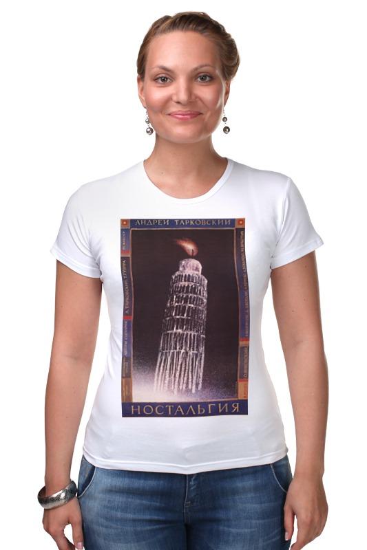 Футболка Стрэйч Printio Афиша к фильму ностальгия, 1988 г. куплю платье papilio модель ностальгия