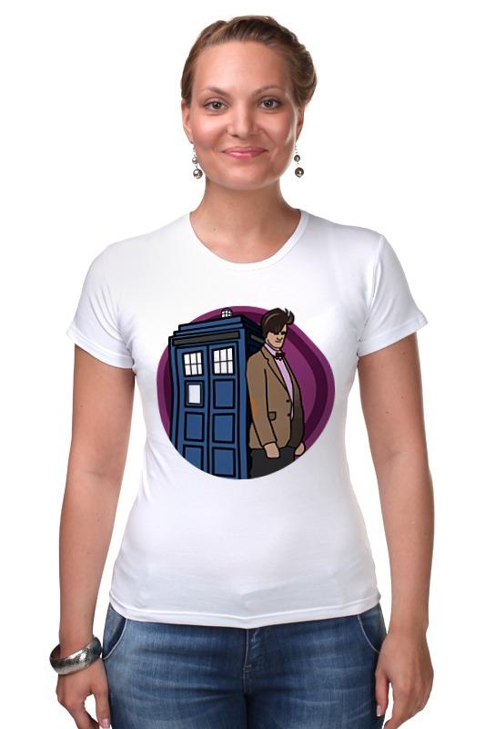 Футболка Стрэйч Printio Доктор кто футболка рингер printio доктор кто doctor who