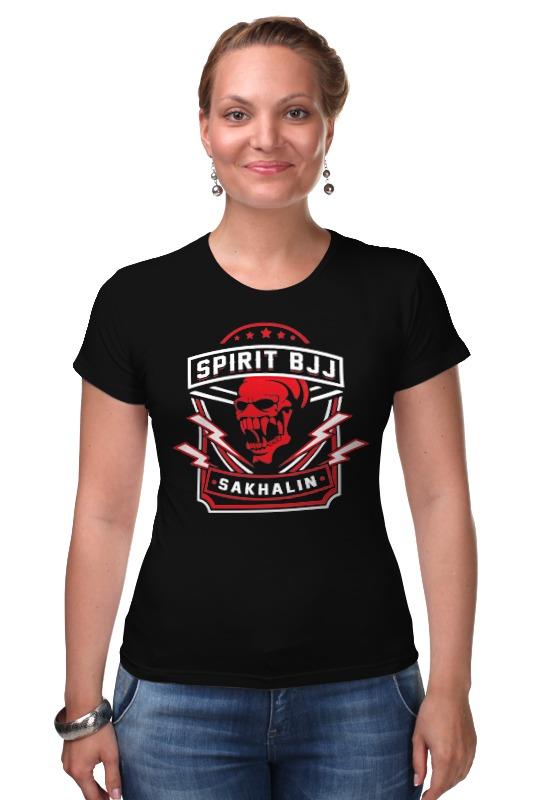 Футболка Стрэйч Printio Spirit bjj sakhalin skull (black) футболка wearcraft premium slim fit printio spirit bjj sakhalin skull black
