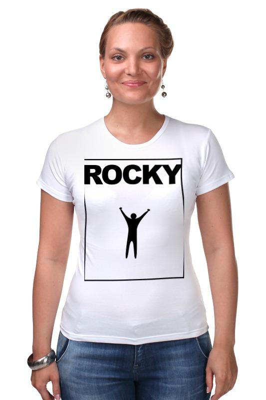 Футболка Стрэйч Printio Rocky balboa светильник декоративный 3dlightfx paw patrol rocky mini 3d