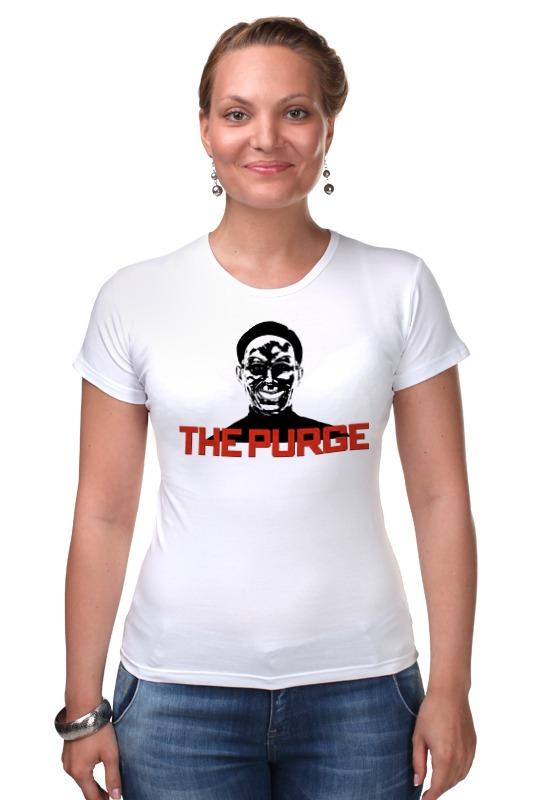 Футболка Стрэйч Printio The purge le fate топ