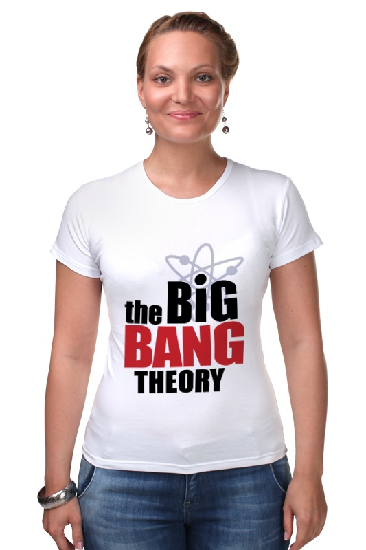 Футболка Стрэйч Printio The big bang theory george and the big bang