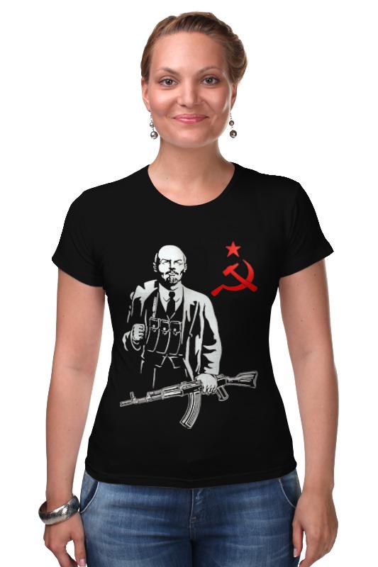 Футболка Стрэйч Printio Ленин калашников ак47 купить автомат калашников боевой цена