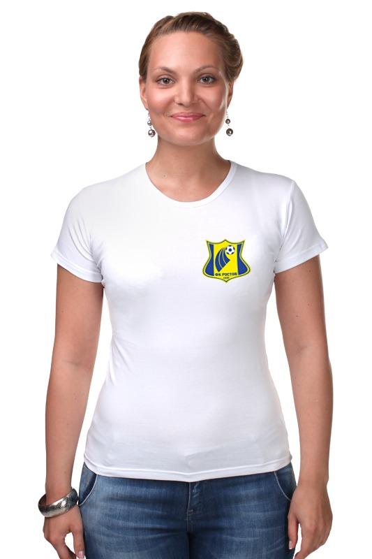Футболка Стрэйч Printio Фк ростов футболка классическая printio ростовская область ростов на дону