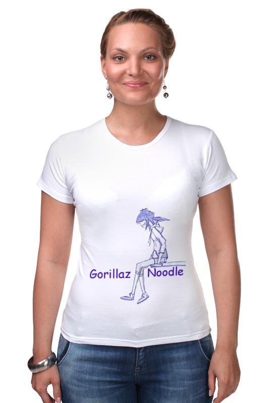 Футболка Стрэйч Printio Gorillaz футболка стрэйч printio gorillaz