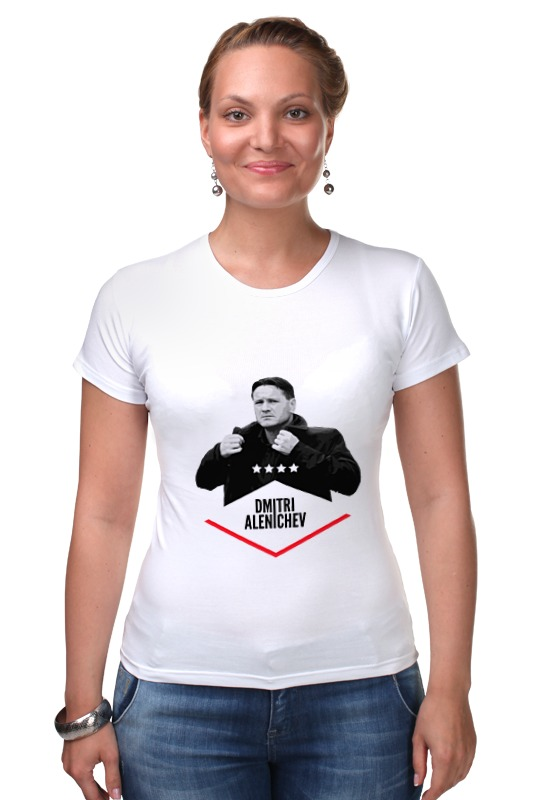 Футболка Стрэйч Printio Dmitry alenichev by design ministry футболка рингер printio spb t shirt by design ministry