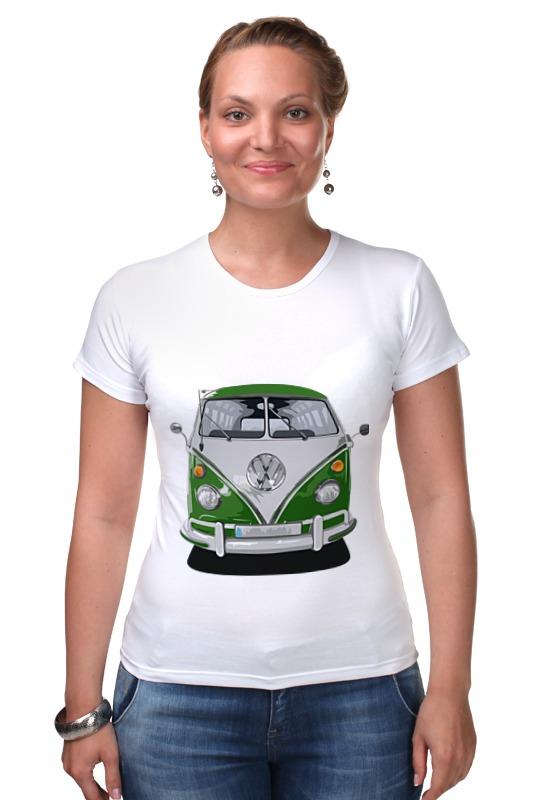 Футболка Стрэйч Printio Volkswagen автобус volkswagen lt 28