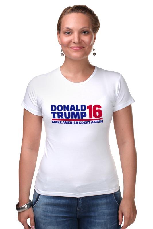 Футболка Стрэйч Printio Trump - america great