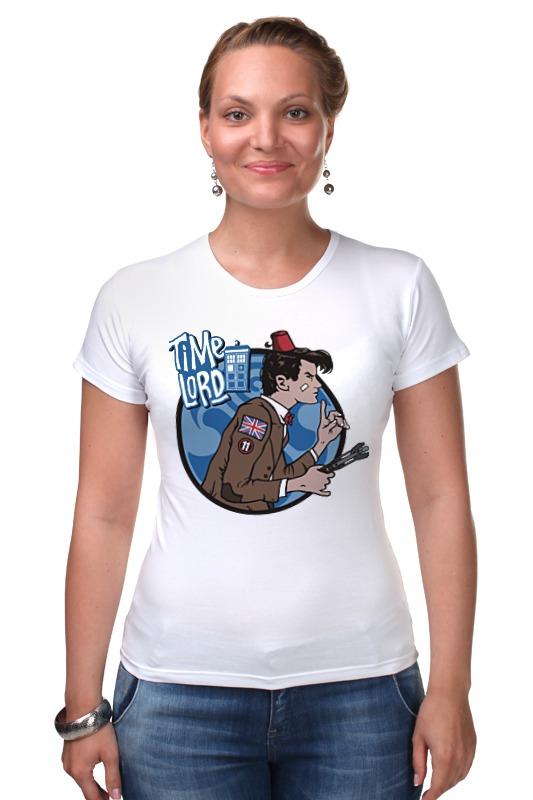 Футболка Стрэйч Printio Доктор кто. time lord футболка для беременных printio time lord доктор кто