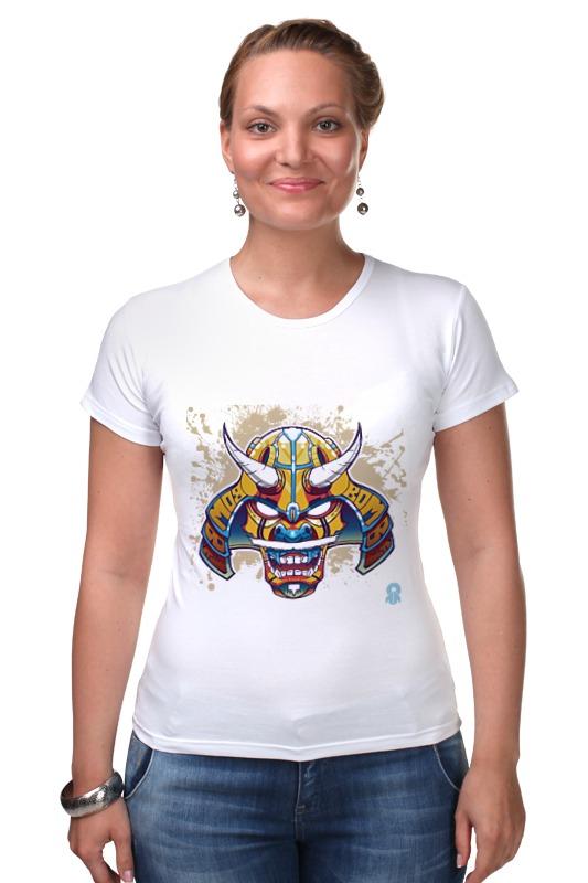 Футболка Стрэйч Printio Маска самурая transformers маска bumblebee c1331