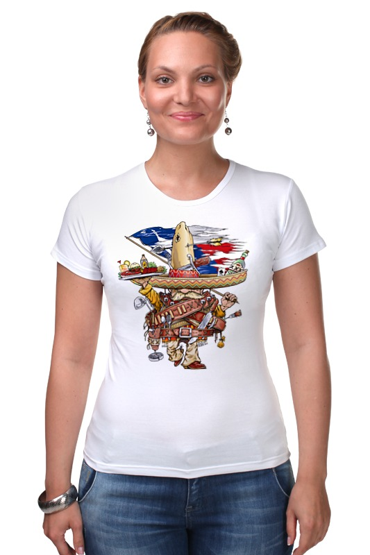 Футболка Стрэйч Printio Bandito футболка для беременных printio bandito