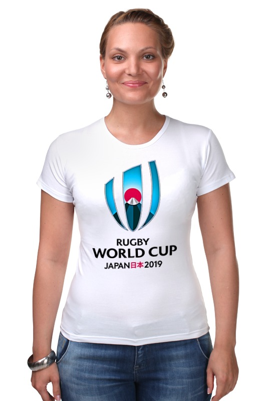 Футболка Стрэйч Printio Rugby world cup 2019 australia france rugby league world cup 2017