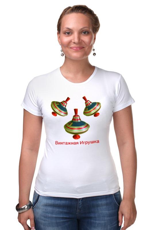 Футболка Стрэйч Printio Винтажная игрушка винтажная одежда интернет магазин купить