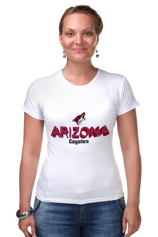 Футболка Стрэйч Printio Arizona coyotes футболка quelle arizona 874837