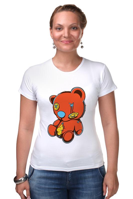 Футболка Стрэйч Printio Dead teddy bear футболка стрэйч printio dead teddy bear