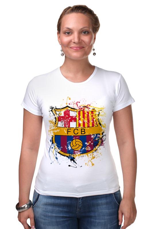 Футболка Стрэйч Printio Барселона билеты на матч динамо барселона
