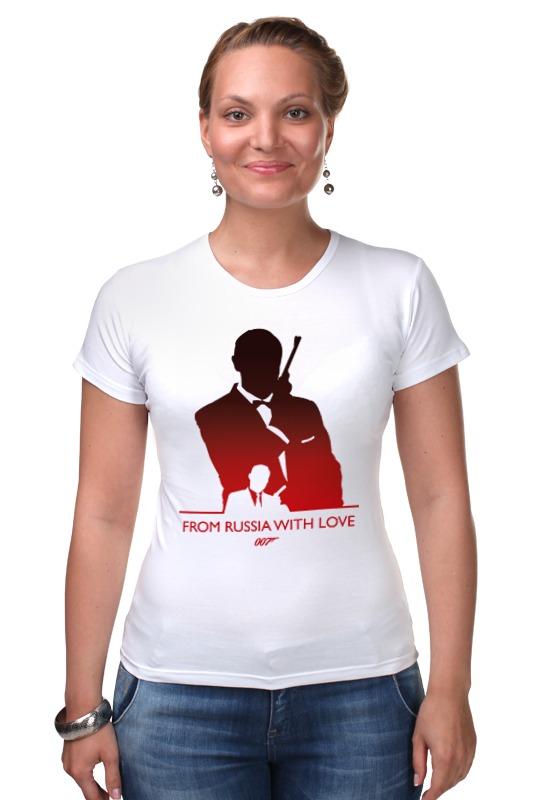 Футболка Стрэйч Printio 007: из россии с любовью сумка printio делай с любовью