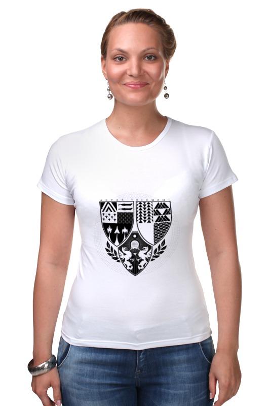 Футболка Стрэйч Printio Age of triumph (white) футболка для беременных printio age of triumph white