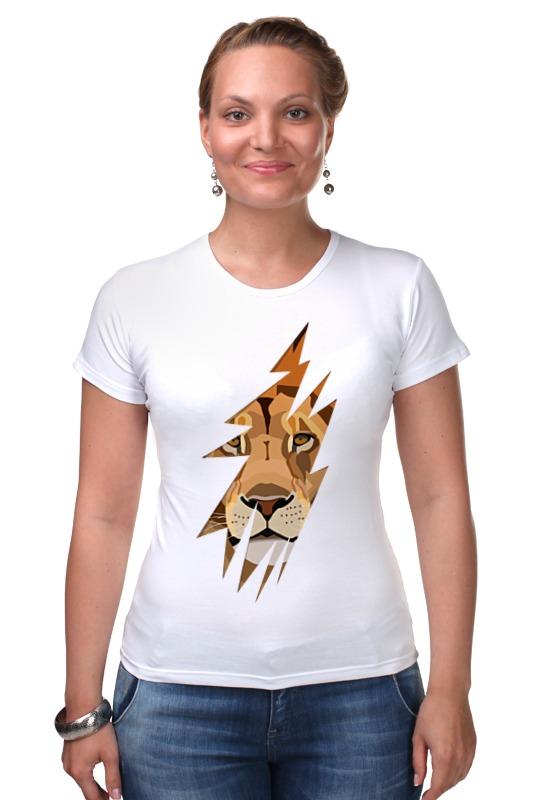 Футболка Стрэйч Printio Лев (lion) футболка стрэйч printio моряк попай