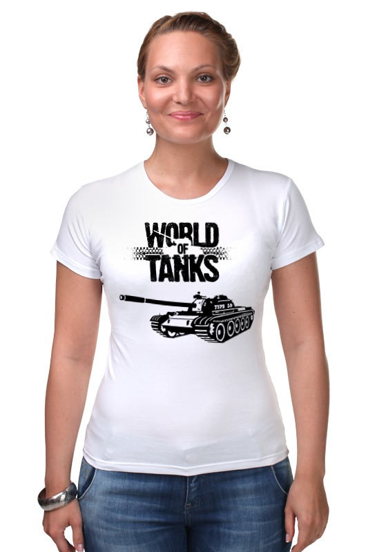 Футболка Стрэйч Printio World of tanks - type 59