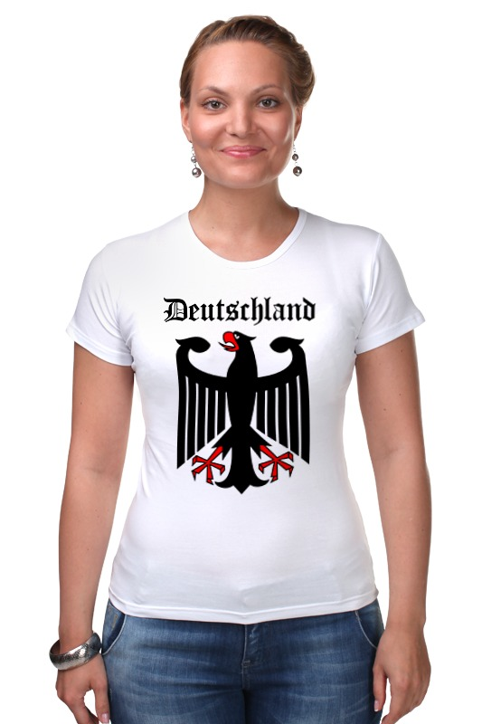 Футболка Стрэйч Printio Германия футболка стрэйч printio с пробегом по германии