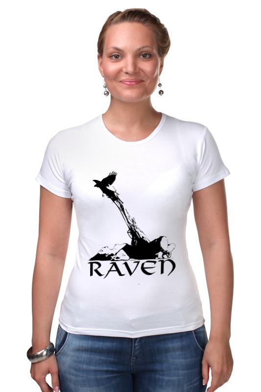 Футболка Стрэйч Printio Raven brand raven raven extermination 2 lp