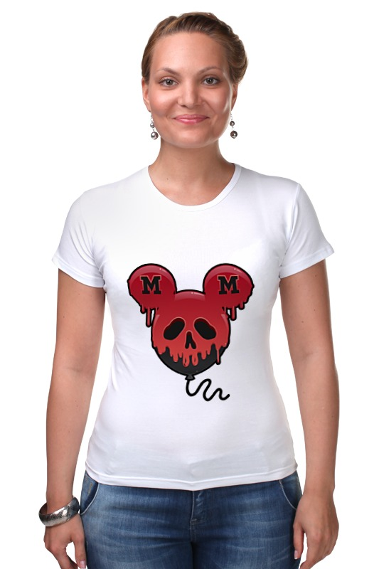 Футболка Стрэйч Printio Skull - 27 футболка стрэйч printio skull cowboy