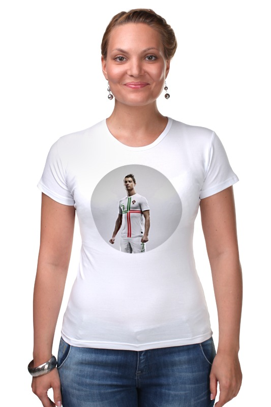 Футболка Стрэйч Printio Cristiano ronaldo футболка стрэйч printio real madrid реал мадрид