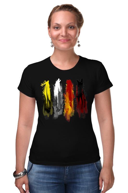 Футболка Стрэйч Printio Игра престолов футболка wearcraft premium printio игра престолов
