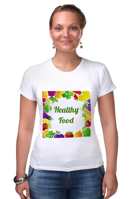 Футболка Стрэйч Printio Healthy food фен elchim 3900 healthy ionic red 03073 07