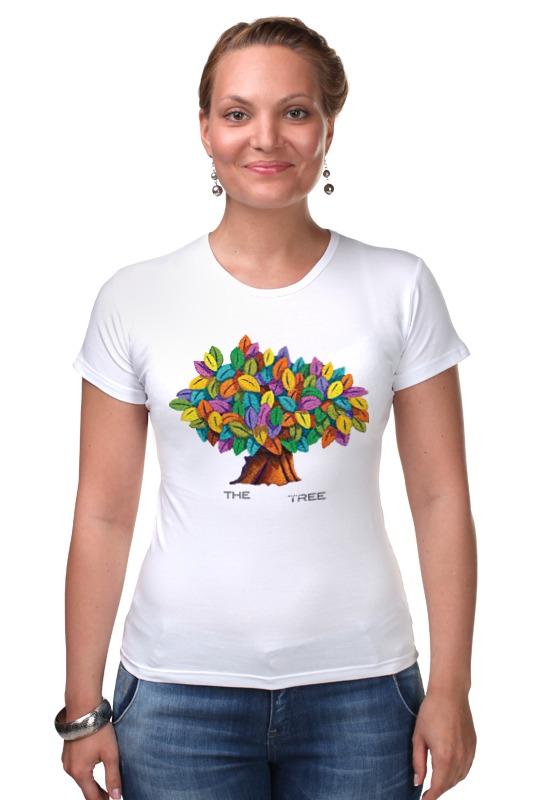 Футболка Стрэйч Printio Дерево счастья дерево счастья 15100053р