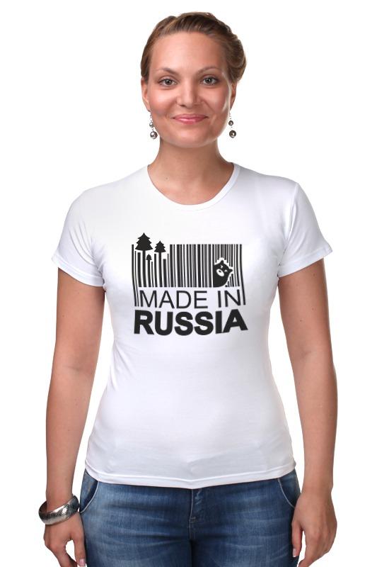 Футболка Стрэйч Printio Made in russia russia made rk 744 кукла герцогиня