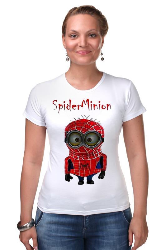 Футболка Стрэйч Printio Spider minion лонгслив printio spider minion