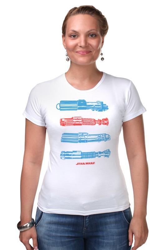 Футболка Стрэйч Printio Световые мечи мечи для тамесигири в москве